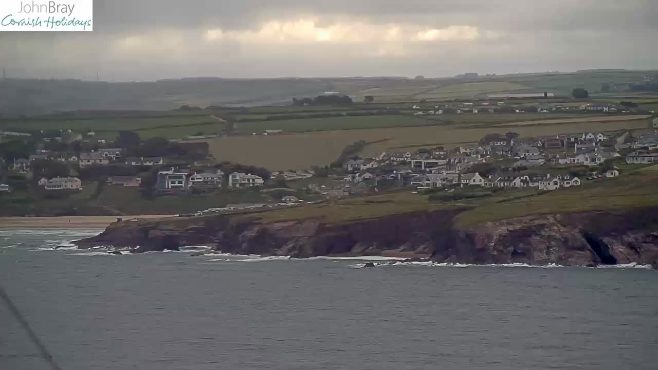 Latest snapshot from our Daymer Bay Webcam